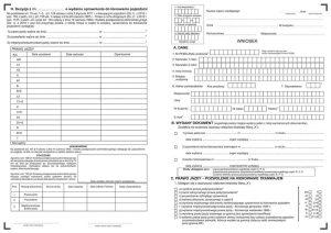 Wniosek o wydanie prawa jazdy